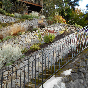 Erosion Control Retaining Walls