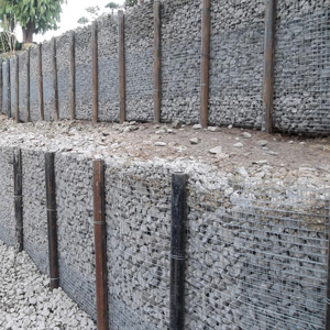 Pin Pile Retaining Wall