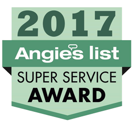 The Wall Angie's List Super Service Award